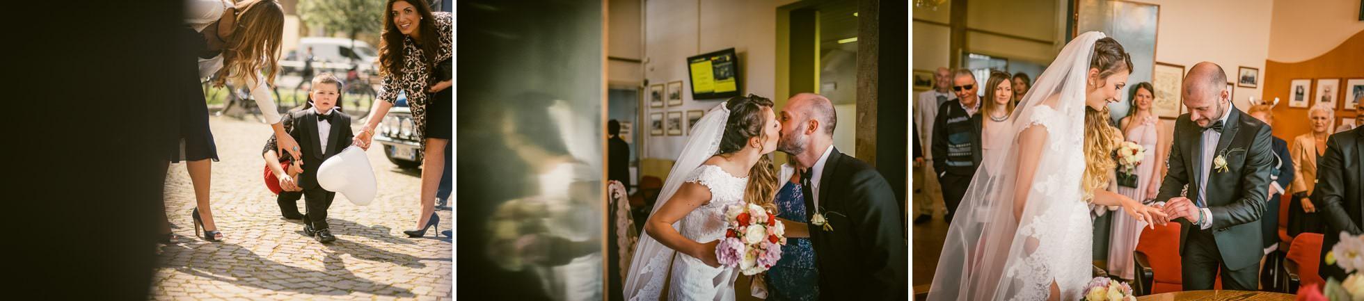 matrimonio in comune spinea foto