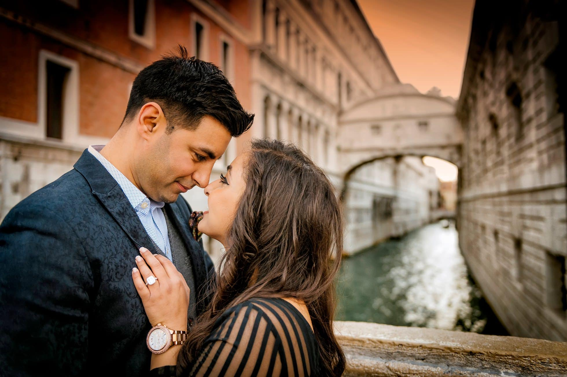 wedding photographer rialto bridge
