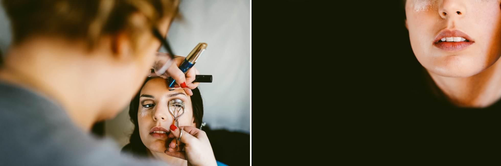 fotografo matrimonio trucco sposa