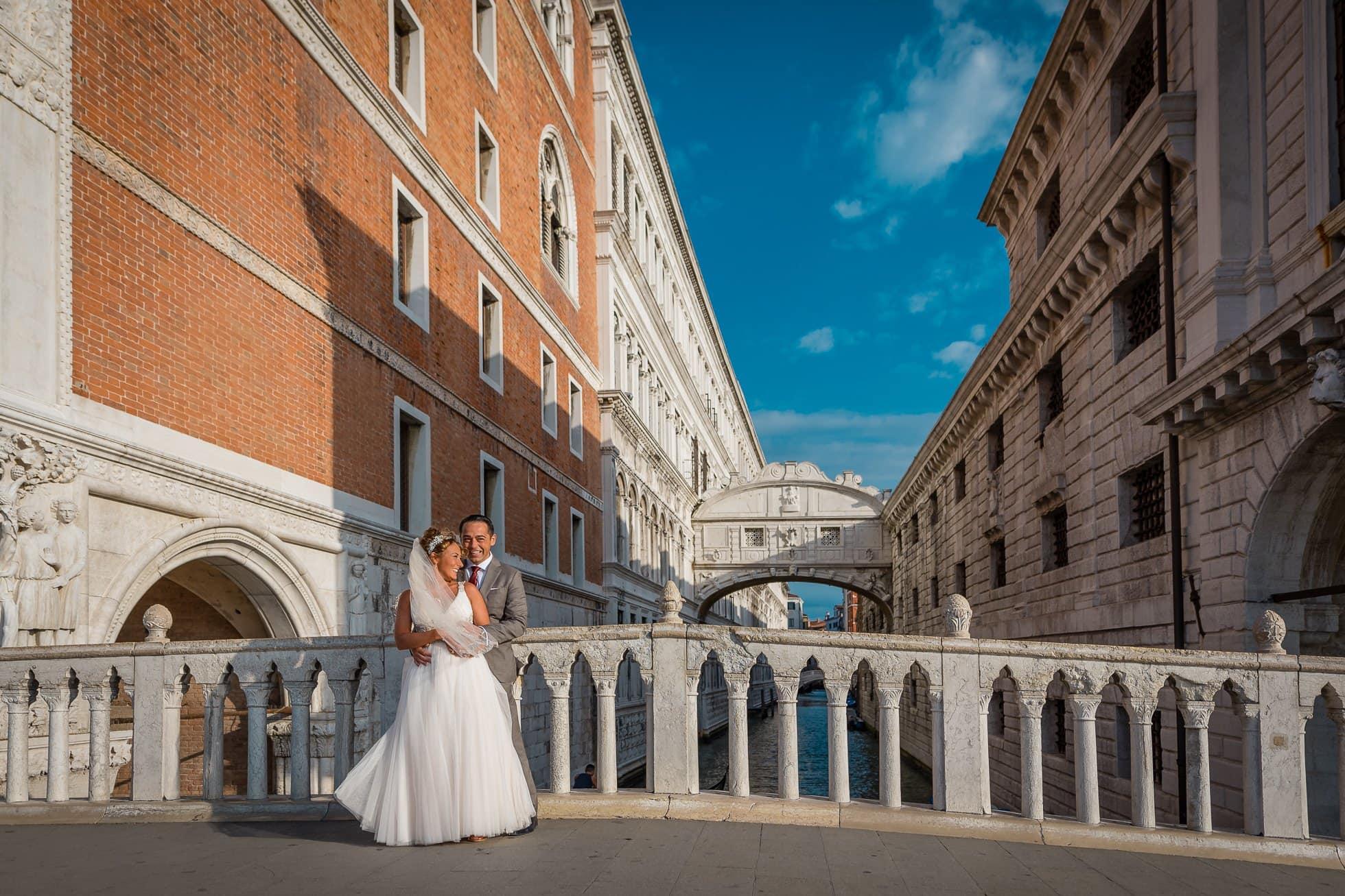 Fotografo matrimonio ponte di rialto