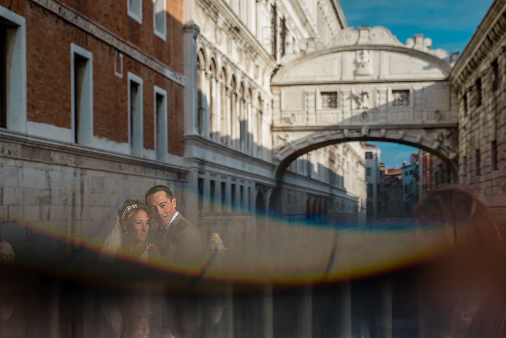 Fotografo matrimonio rialto bridge
