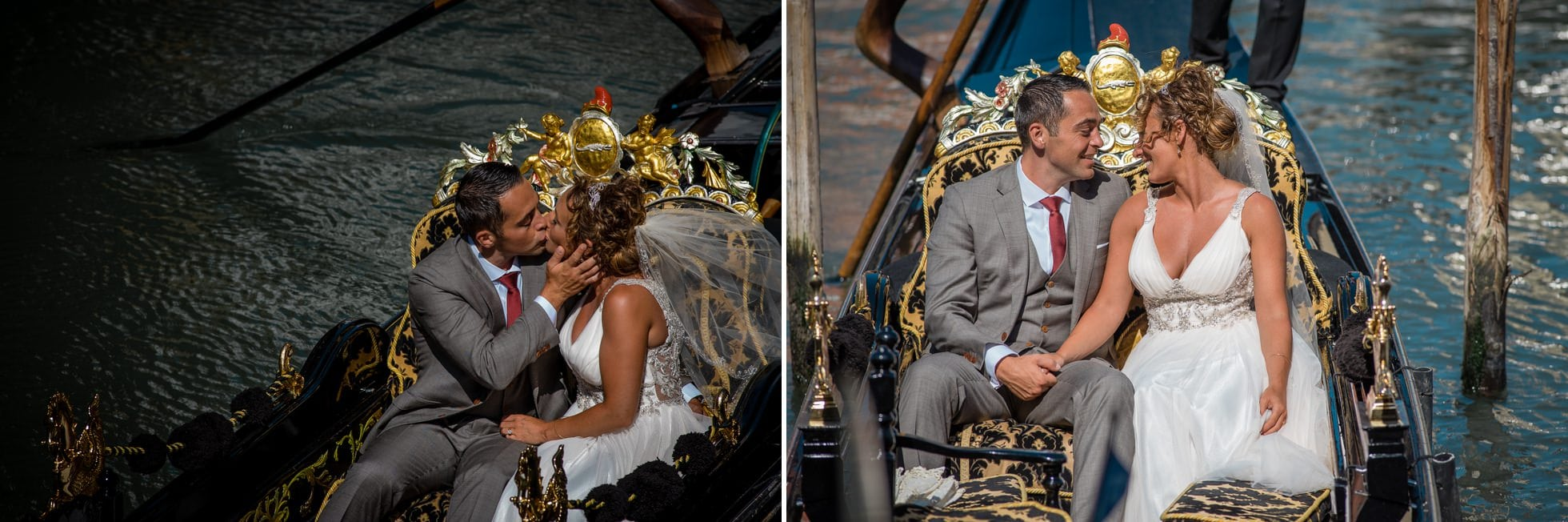 Fotografo matrimonio gondola