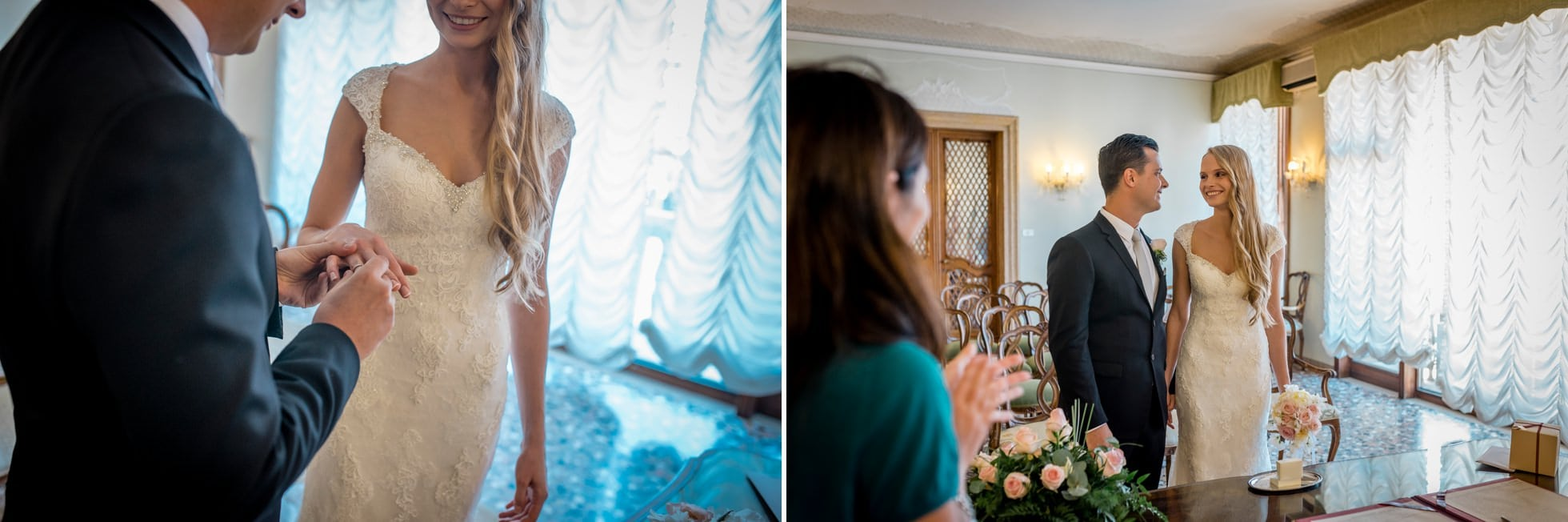 fotografo matrimonio civile palazzo cavalli