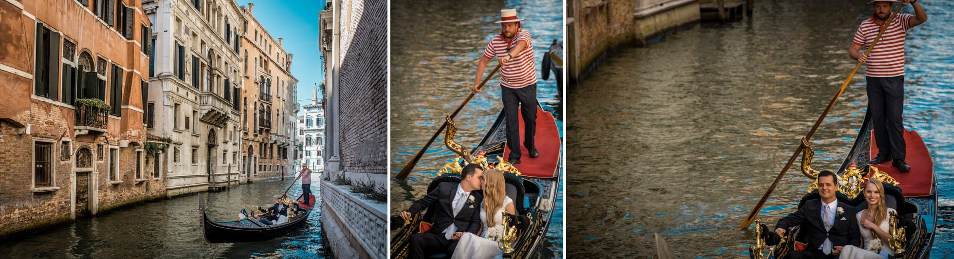 fotografo matrimonio venezia gondole